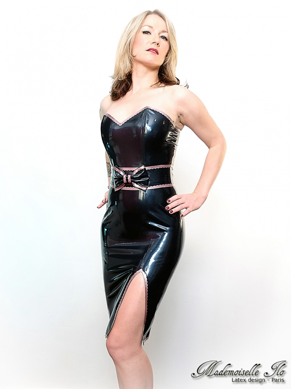 Mademoiselle Ilo Barbara Dress Latex Rubber Paris France
